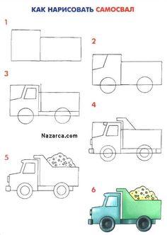 3d-boyutlu-kolay-kamyon-nasil-cizilir