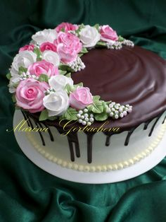 (notitle) - Cupcakes and cake decorating - Torten Cake Decorating For Beginners, Cake Decorating Techniques, Cake Decorating Tutorials, Cupcakes Decorating, Cake Icing, Buttercream Cake, Cupcake Cakes, Pretty Cakes, Beautiful Cakes