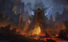 ArtStation - Gate to Hell, Yog Joshi