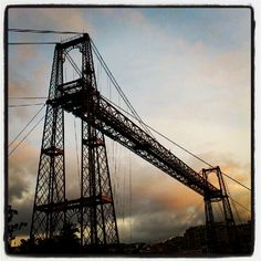 "See 881 photos and 60 tips from 2968 visitors to Puente Bizkaia. ""It is the world's oldest transporter bridge and was built in designed by. Bilbao, World, Bridges, Travel, Suspension Bridge, Countries, Destinations, Pendants, The World"