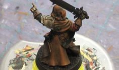 From the Warp: How to paint dirty metal with washes