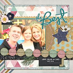 Winter Wishes by Pixels & Co designers (Jan 2015 kit); font: kravitz therma