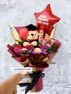Order or enquiry's please Whatsapp us No : We provide delivery for Penang Kedah Kl Selangor (Selected Area) Graduation Bouquet, Graduation Crafts, Personalized Graduation Gifts, Grad Gifts, Food Bouquet, Gift Bouquet, Candy Bouquet, Diy Birthday Box, Birthday Gifts