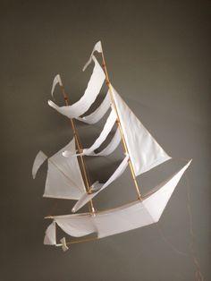 Amazing Sailing Ship Kite from Haptic Lab