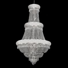 50x30 $1500 with shipping Empire Crystal 3 Tier 21 Light Chandelier @overstock