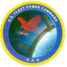 The emblem of the command of military operations in cyberspace / the 10th US Navy Fleet