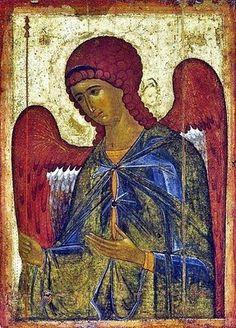 Icon of Archangel Gabriel, 1387–1395 Byzantine