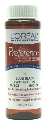 L'Oreal Preference Color - 1 Blue Black (Case of 6) by L'Oreal Paris * Details can be found by clicking on the image. (Amazon affiliate link)