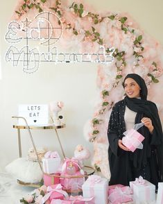 Happy #MuslimWomensDay! We're absolutely loving how  The Open Itinerary styled our #DaysOfEid products. Our LED Lights are the perfect pop for both interior & exterior walls! Shop this Days of Eid look here : https://daysofeid.com/collections/marquee-signs/products/light-box