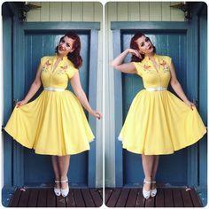 My Week In Outfits! - Miss Victory Violet Rockabilly Fashion, 1950s Fashion, Vintage Fashion, Rockabilly Style, Sexy Dresses, Vintage Dresses, Vintage Outfits, Vintage Mode, Vintage Girls