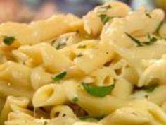 Warm Macaroni and Mozzarella Salad with Herbs by Paula Deen