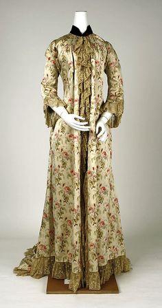 Peignoir  1880s  The Metropolitan Museum of Art