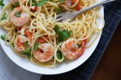 When you're looking for something festive to serve that's impressive, yet requires little time and effort – shrimp scampi is it.