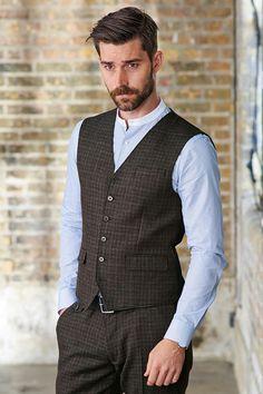 Grandad collar shirt £24 by Next