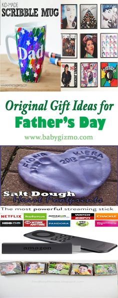 Original Gift Ideas for Father's Day that can be pulled together in no time! #FathersDay #BabyGizmo