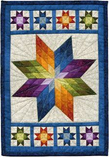 kerrykatiecakes: Win This Quilt! kerrykatiecakes: Win This Quilt! Lone Star Quilt Pattern, Star Quilt Blocks, Star Quilt Patterns, Star Quilts, Mini Quilts, Colchas Quilting, Quilting Projects, Quilting Designs, Quilt Baby