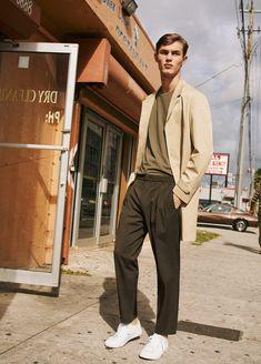 Adrien Sahores, Kit Butler, and Matthew Holt Star in Mango Man SS17 Ads