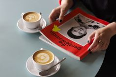 coffee + magazines at Westberlin | photo by Jessica Jungbauer (read the story on Best Wishes Magazine)