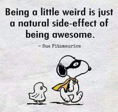Awesome. I Am AwesomeSnoopy ...
