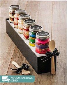 Cakes and Cupcakes - Cupcake Jars: 6 Birthday Combo Cupcake Jars!