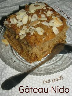 The Teal Tadjine | A Mélange of Cooking and Culture in the Algerian Mediterranean Basin and Beyond: Gâteau Nido lait grillé | Algerian toasted milk cake