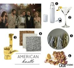 2014 Golden Globes Inspiration: American Hustle #decor