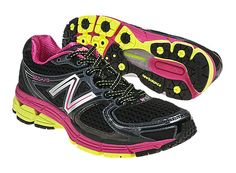 New Balance 860v3, Black with Pink