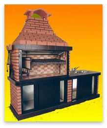 1000 images about asadores on pinterest pizza ovens for Parrilla para una casa
