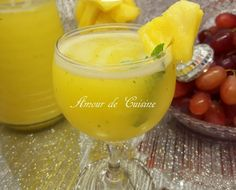 Jus brûle graisses Ananas et citron Bonjour tout le monde,  Ce jus tout délicieux et bien bénéf...