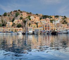 Symi Harbor - Greek Island