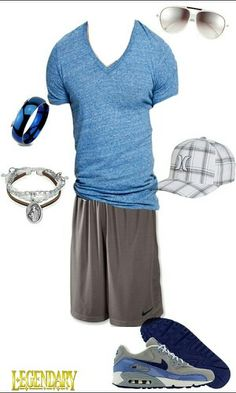 Men nike casual outfit. Sweet mens outfit!!