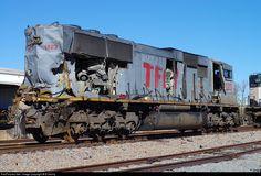 RailPictures.Net Photo: TFM 1623 Kansas City Southern Railway EMD SD70MAC at Shreveport, Louisiana by B Denny