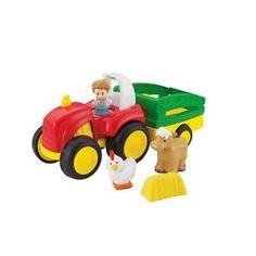 ถูกกว่านี้ไม่มีอีก ซื้อเลยวันนี้ Fisherprice Little People Tow 'n Pull Tractor เก็บเงินปลายทาง คุณภาพดี ราคาถูก
