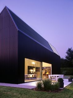 <p>A black saw toothed factory roof building with a bright white interior was the starting point for this amazing Belgian house by architect Pascal Francois. The Flanders-located family house opted to