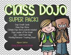 Class Dojo Classroom Management & Economy SUPER PACK