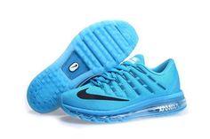 Mens Cheap Nike Air Max 2016 Black Blue On Sale