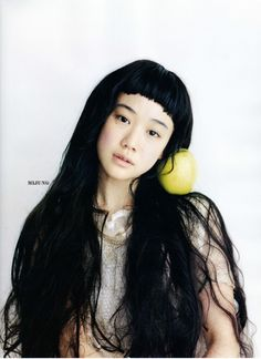 lovely Aoi Yu #actress #apple #hair #beauty