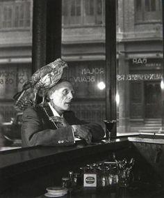Mr Beauboir, Paris , 1950 by Robert Doisneau
