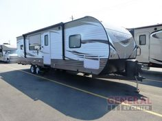 New 2018 Forest River RV Wildwood Travel Trailer at General RV Cargo Trailers, Travel Trailers, Rv Sites, Forest River Rv, Rv Storage, Rv Travel, Campervan, Campsite, Motorhome