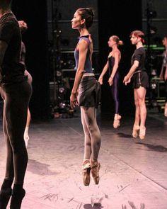 """ballerinaoftheopera: """"Rina Nemoto in class at Australian Ballet """""""