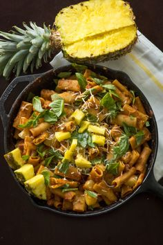 One-Pan Hawaiian Pasta