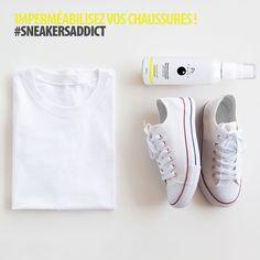 4f72b6d176b Oser le total look blanc avec une jolie paire de Converse immaculées.  ootd