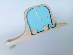 Very clever! - The hat/elephant & boa by Cherrypapa, a favourite toymaker of mine    Kickcan & Conkers