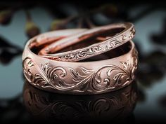 rose gold rings Oh these are wonderful