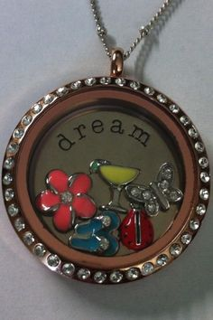 Show your love for summertime with an Origami Owl Locket! SHOP ONLINE @ www.mirandamoran.origamiowl.com
