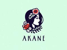 Ideas Flowers Shop Logo Free For 2019 Logos, Logo Branding, Branding Design, Shop Logo, Logo Inspiration, Logo Luxury, Flower Shop Design, Logo Minimalista, Typographie Logo