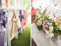A ski resort wedding with a soft pastel color palette from via Keystone Resort, Keystone Colorado, Pastel Colour Palette, Pastel Colors, Wedding Decorations, Table Decorations, Purple Hues, Summer Events