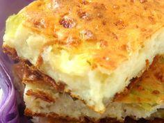 وصفات: صينية بطاطس بيوريه بالجبن