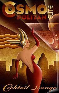 Deco-Dence Art Deco - Artwork - M Kungl Prints - Art Deco club chairs, bars, dining, bedroom, desks Art Deco Artwork, Art Deco Posters, Cool Posters, Arte Art Deco, Estilo Art Deco, Posters Vintage, Retro Poster, Art Deco Illustration, Retro Kunst