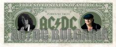 In Rock We Trust AC/DC Bulgaria
